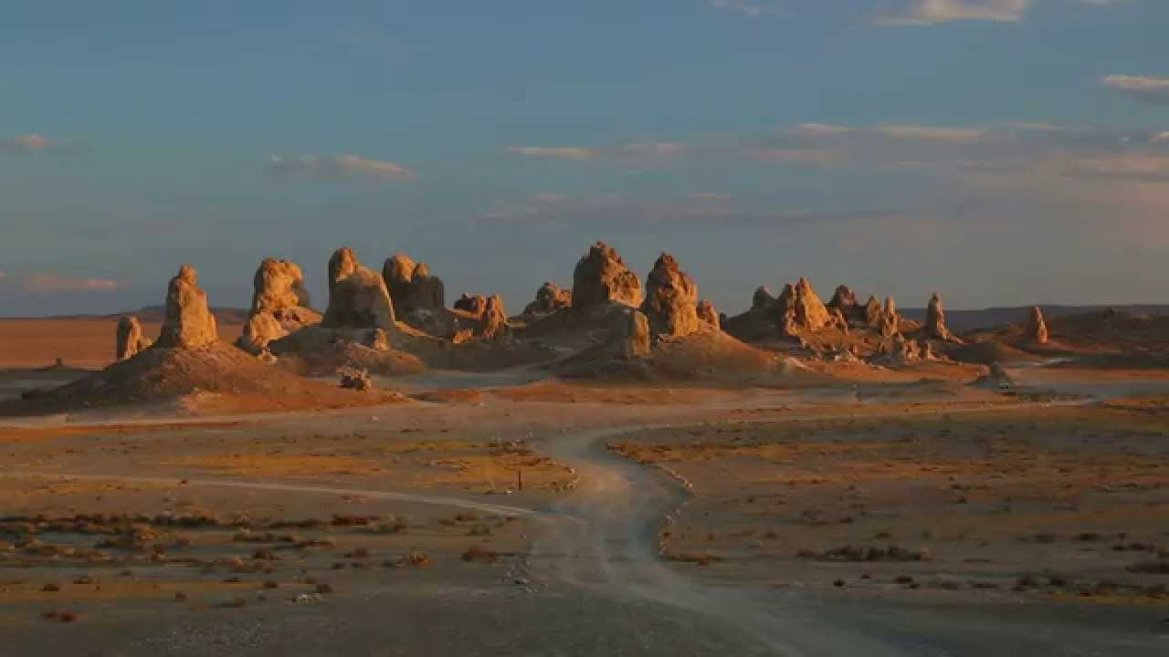Trona California Murders: Eerie & Spooky Places: Trona Pinnacles (Eastern California