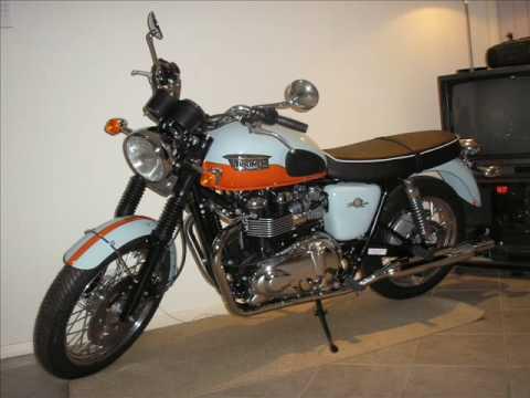 Buy 2010 triumph bonneville t100 1960 anniversary on 2040-motos.
