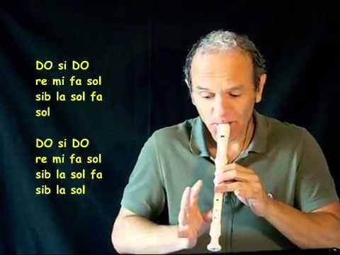 La Canción Libre Soy Con Flauta Dulce
