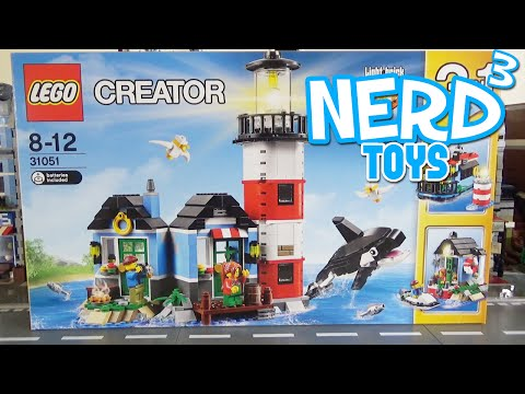 Nerd³'s Lego Tuesdays - 31051 Lighthouse Point
