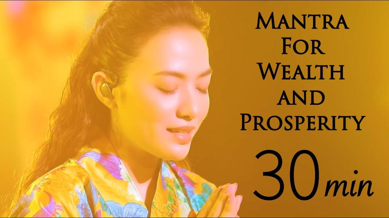 Mantra for Wealth and Prosperity- 30min-  黃財神心咒 -富の神 Dzambhala (Jambala) -Tinna Tinh