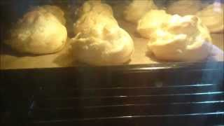 Choux Pastry Time Lapse