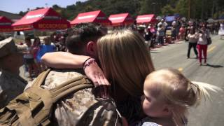 Best Military Homecoming Video EVER!  WARNING: This video WILL make you cry!