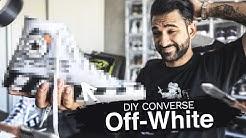 CUSTOM DIY DE MES CONVERSES OFF WHITE (j'ai failli les ruiner)