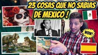 ESPAÑOL REACCIONA A 23 COSAS QUE NO SABIAS DE MEXICO 🇲🇽 ! | JON SINACHE