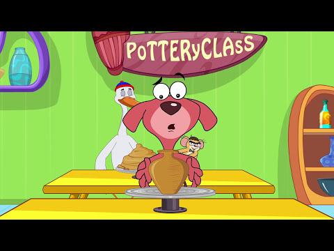 Rat-A-Tat | 'Pottery Don' | Chotoonz Kids Funny Cartoon Videos