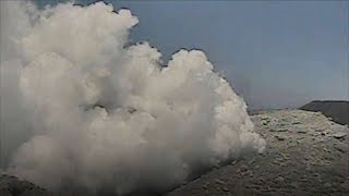 A volcano in southern Japan erupted for the first time in 250 years...