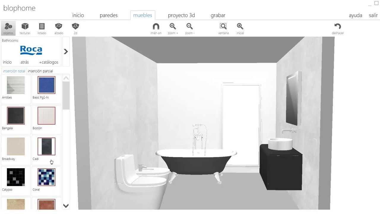 dibujar cuarto de baño, blophome - youtube