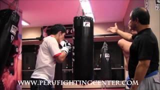 Boxeo: Explicación del trabajo y las diferencias entre el saco de agua y el saco pesado