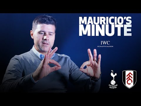 MAURICIO DOES DELE'S CELEBRATION | MAURICIO'S MINUTE | FULHAM (H)