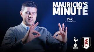 MAURICIO DOES DELE'S CELEBRATION | MAURICIO'S MINUTE | FULHAM (H)