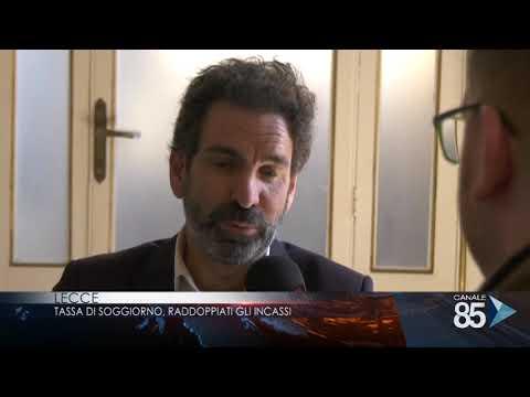 15 novembre 2018 Lecce Tassa di soggiorno Raddoppiati gli incassi