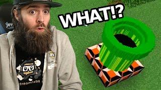 I Found a WARP PIPE in Minecraft!