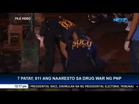 7 people killed, more than 800 arrested in 505 anti-drug operations during long holiday