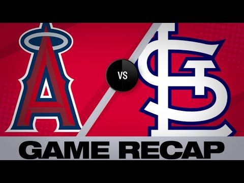 Ozuna leads Cards to win in Pujols' return  | Angels-Cardinals Game Highlights 6/21/19
