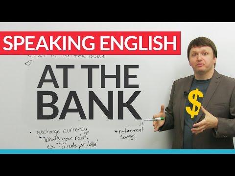 Từ vựng tiếng Anh thực tế: Tại ngân hàng