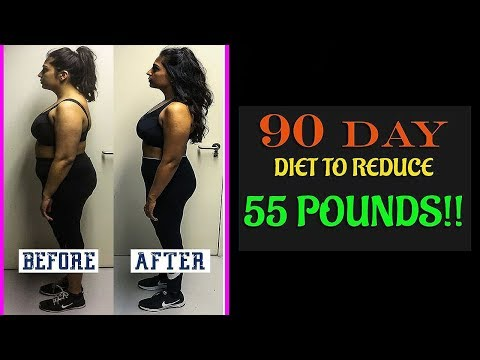 How To Lose Weight Fast To Reduce 55 Pounds!!  90 Days Diet