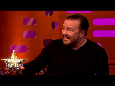 Ricky Gervais Played Madison Square Garden With David Bowie | The Graham Norton Show