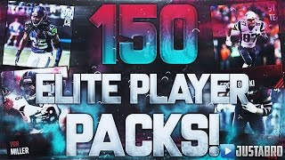 150 ELITE PLAYER PACKS!! Most Guaranteed Elites EVER In Madden!