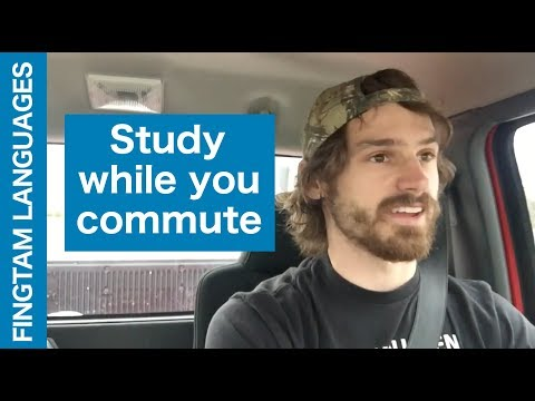 How to learn languages while you drive: The Pimsleur method