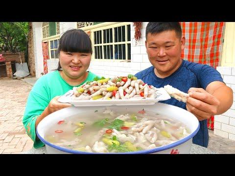 【陕北霞姐】5斤鸡爪,霞姐做夏季泡椒鸡爪子,煮一煮泡一泡,做下酒菜太美了!