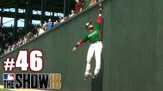 HIGHEST I'VE SEEN ANYONE JUMP TO ROB ONE! | MLB The Show 18 | Diamond Dynasty #46