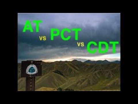 Pacific Crest Trail vs Appalachian Trail vs Continental Divide Trail