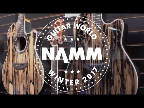 NAMM 2017 - Ovation Guitars - DW Ovation Collector's Series