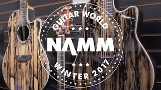 NAMM 2017 - Ovation Guitars - DW Ovation Collector's Series