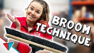 How to get off work - Broom Technique