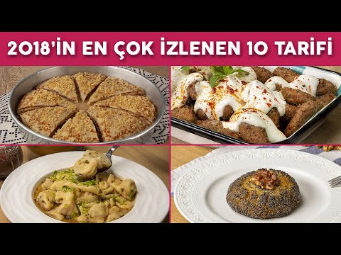 2018'in En Çok İzlenen 10 Tarifi (Zirvedekiler!) - Yemek Tarifleri   Yemek.com