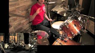 Drum Lesson No.7: Layered Grooves Part 1 By CHRIS BRIEN in HD