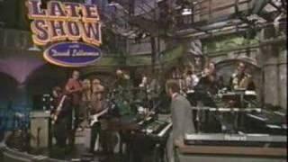 Zevon + Letterman = Funny
