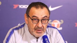 Maurizio Sarri Full Pre-Match Press Conference - Manchester City v Chelsea - Premier League