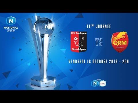 11e journée : Boulogne - Quevilly I National FFF 2019-2020