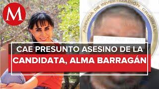 En Guanajuato, detienen a presunto homicida de Alma Barragán, candidata de MC