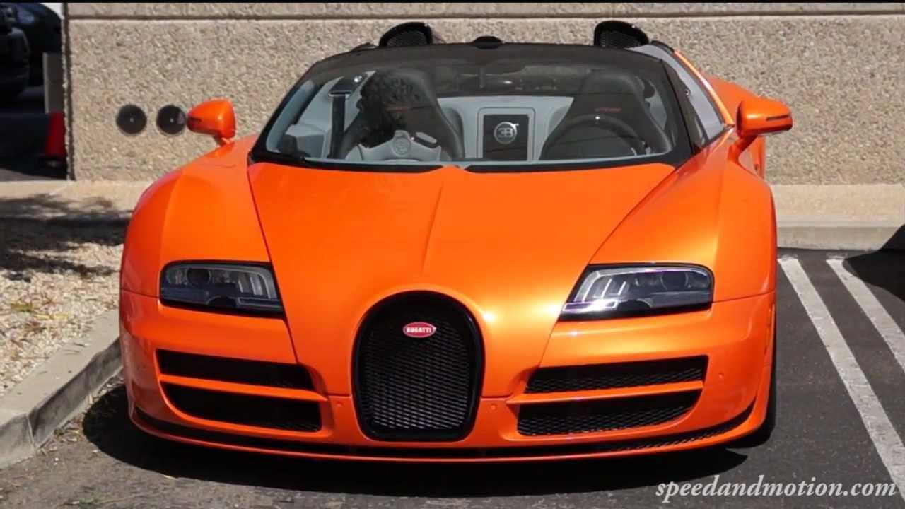 orange bugatti grand sport vitesse youtube. Black Bedroom Furniture Sets. Home Design Ideas