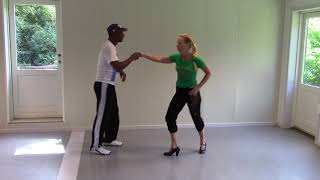 Salsa Cubana with Stine Ortvad and Felix - 3 part with music
