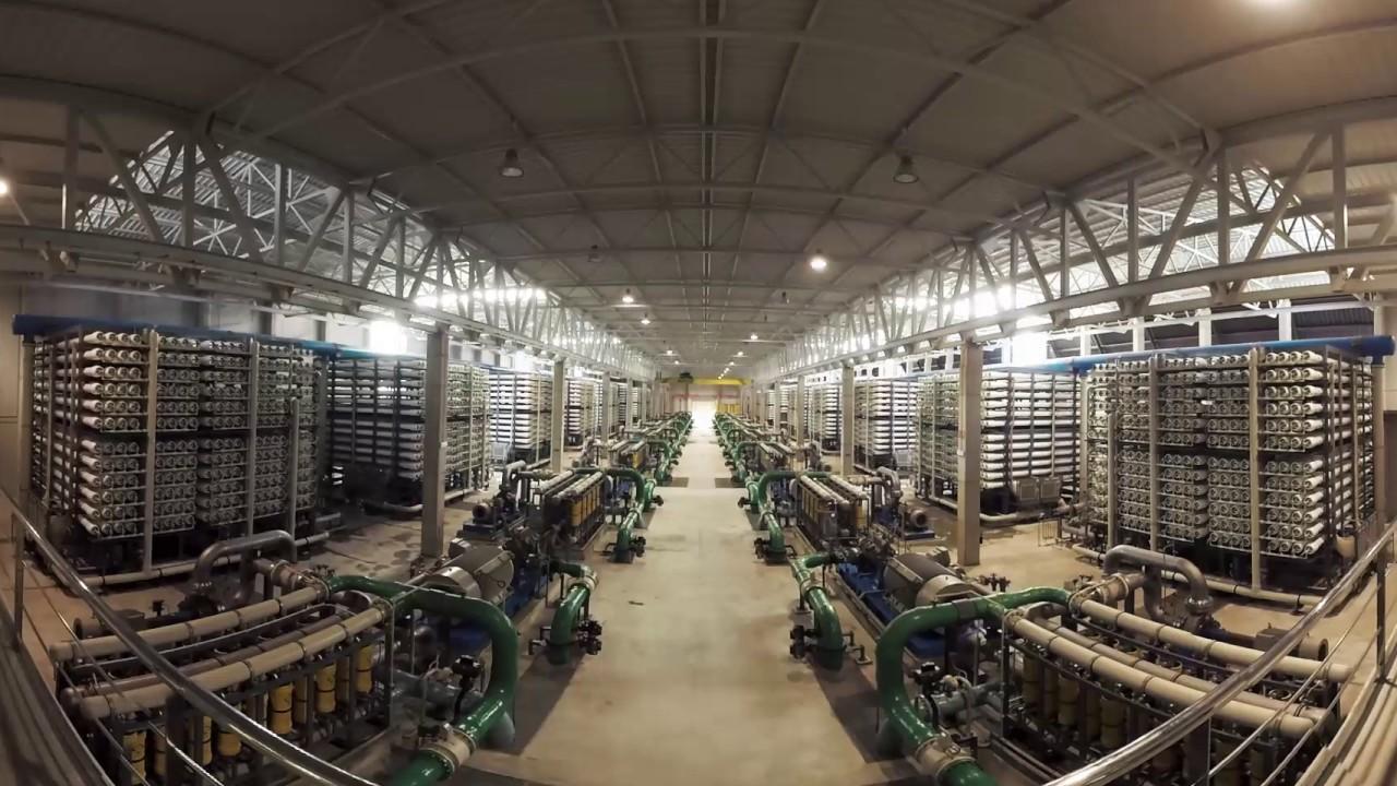 Vídeo 360º de la IDAM de Torrevieja | ACCIONA Agua
