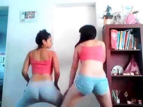 Chicas colombianas bailando y - funeral canoa