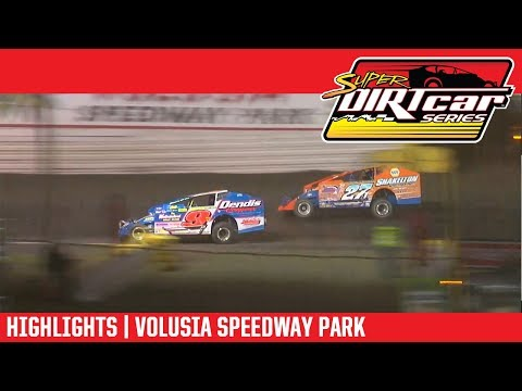 Super DIRTcar Series Big Block Modifieds Volusia Speedway Park February 16th, 2018 | HIGHLIGHTS