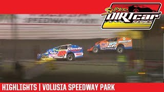 Super DIRTcar Series Big Block Modifieds | Volusia Speedway Park 2/16/18