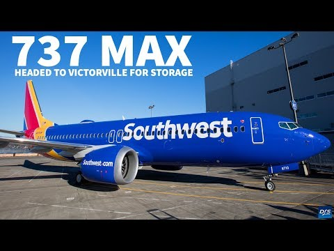 Southwest Moves 737 MAX to Victorville