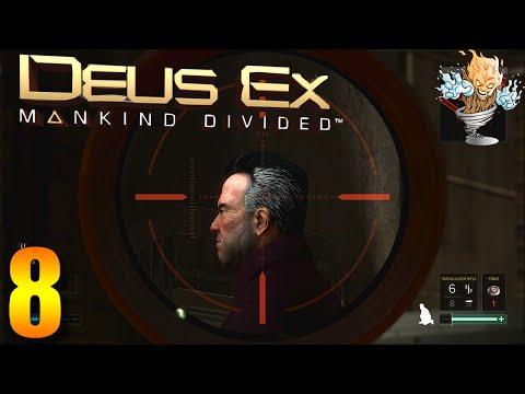Deus Ex Mankind Divided Gameplay Part 8 - The Casino Job