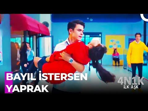 Yaprak Okulun Ortasında BAYILDI! - 4N1K İlk Aşk 12. Bölüm