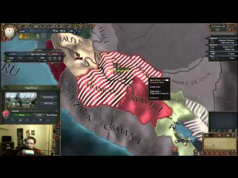 Playing as Cusco (Incas) in Europa Universalis IV: El Dorado, Livestream Part 4