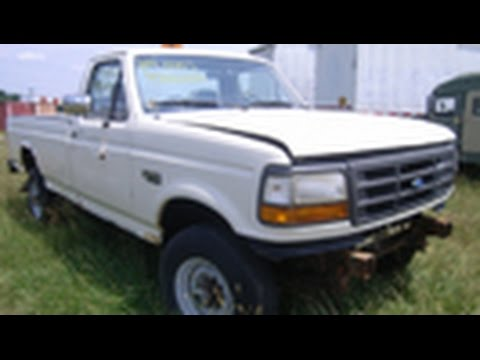 1994 ford f 250 xl pickup truck on youtube. Black Bedroom Furniture Sets. Home Design Ideas