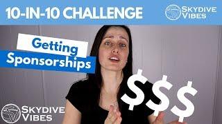 Getting Sponsorships - 10-in-10 Challenge