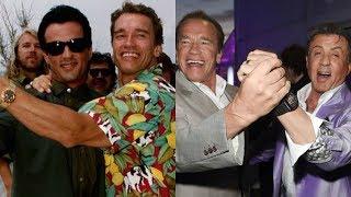 Arnold Schwarzenegger & Sylvester Stallone - Then & Now
