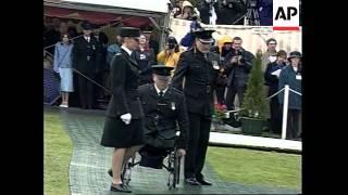 N. IRELAND: RUC RECEIVES GEORGE CROSS